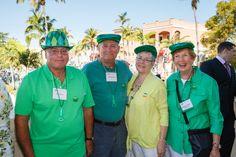 Emmanuel College Alumni St. Patrick's Event   Naples, FL   3.15.14 - Fran Yafrate, Bill & Carolyn Henderson and Mary Alice O'Hearn Yafrate '65
