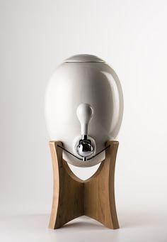 ceramic, filtered water dispenser by Aquaovo                              …