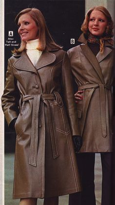 Wards 73 fw 2 leather coats by jsbuttons, via Flickr