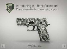 P250 | Franklin | Bank Collection | CS:GO | SKIN