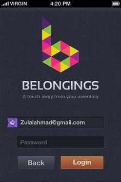 Belongings by zee7 , via Behance