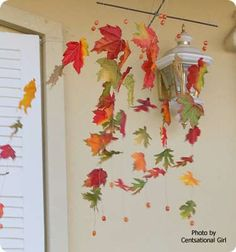 Kate's Autumn Leaves Wind Catcher