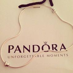 PANDORA Heart Necklace ♡