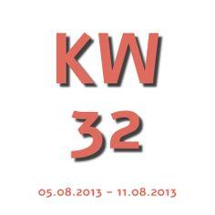 Die Aktuelle KW - Kalenderwoche heute ist die kw 32 und geht von 05.08.2013 - 11.08.2013