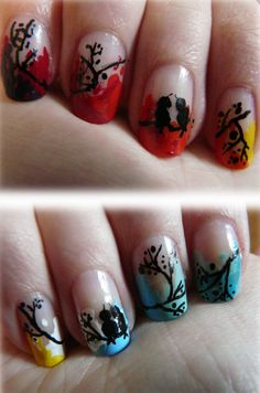 50 Mind Blowing Designs of Nail Art   Cuded