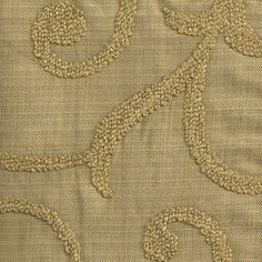 Taupe upholstry  fabric with swirlz | Kender Bronze Fabric