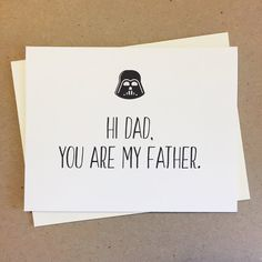 CARD: Hi Dad, You Are My Father. Great for birthdays, celebration, to show appreciation, and Fathers Day. Made to order. My Father, Fathers Day, Father Birthday Cards, Show Appreciation, Funny Cards, Mom And Dad, Bro, Letter Board, Celebration