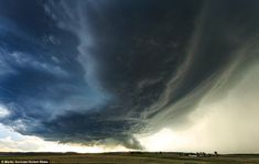 Weather forecaster chases deadly storms through Tornado Alley | Daily Mail Online