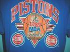 For Sale - Vintage Detroit Pistons 1989 NBA Finals Throwback T Shirt SIZE LARGE 42/44 - http://sprtz.us/PistonsEBay