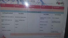 12 au 16 octobre 2015