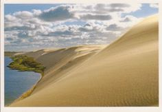Sand dunes of Nida, Lithuania