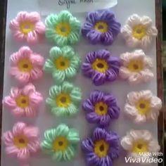 Crochet Jewelry Patterns, Crochet Flower Patterns, Crochet Stitches Patterns, Crochet Flowers, Beading Patterns, Crochet Stars, Hand Embroidery Videos, Hand Embroidery Flowers, Hand Embroidery Patterns