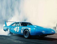 """King"" Richard Petty's #43 1970 HEMI Plymouth SuperBird (in ""Petty Blue,"" of course)!!"