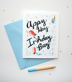Happy Birthday in Pig Latin Birthday Card