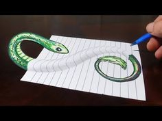 How to Draw 3D Steps in a Hole - Line Paper Trick Art - YouTube