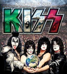 """#LIVEREPORT: #KISS ((Live @ """"Unipol Arena""""))  Il tour mondiale intrapreso dagli instancabili #KISS, in questo 2017, tocca ben due importanti città italiane, Torino e Bologna. Presente nel capoluogo emiliano, """"Rock & Metal in my Blood"""" vi racconta le emozioni e le sensazioni che solo un concerto del """"Bacio"""" può suscitare: un'enorme festa, a suon di scoppiettante Rock n' Roll.  (Marek & Alissa)"""