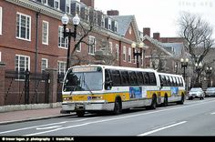 MBTA BOSTON, RTS NOVA BUS , 1995