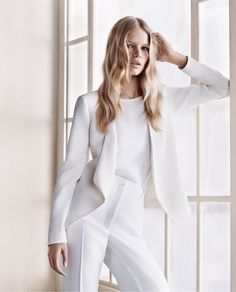 white suit | mango