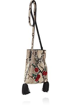 Altuzarra Ghianda Python Bucket Bag - Shoulder - 505065632