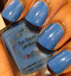 Too Fancy Lacquer - Wash The Blues Away