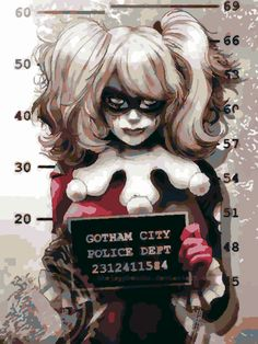 Harley Quinn PaintaPic
