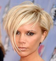 Short Hair With Headband | You can get a few more choppy layers on top and mess it about.