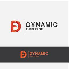 this is logo for Dynamic Enterprise designed by myself. Enterprise Logo, Logo Design, Company Logo, Logos, Collection, Logo