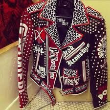 punk studded jacket - Google Search