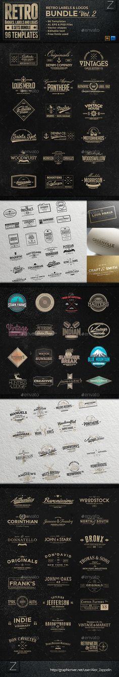 96 Retro Vintage Badges & Labels Bundle | Buy and Download: http://graphicriver.net/item/96-retro-vintage-badges-labels-bundle-vol2/9007614?WT.ac=category_thumb&WT.z_author=Alex_Zeppelin&ref=ksioks