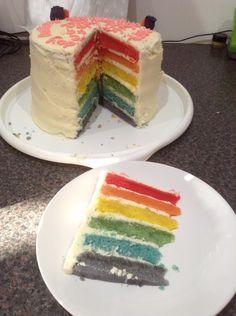 Rachel's birthday cake made by Deborah