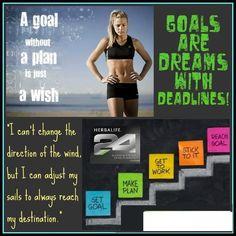 Herbalife: Goals And Dreams. Order today at  http://www.goherbalife.com/avarose/en-US