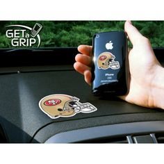 San Francisco 49ers NFL Get a Grip Cell Phone Grip Accessory
