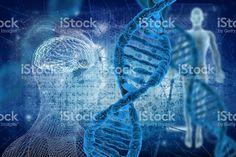 Moléculas de ADN illustracion libre de derechos libre de derechos