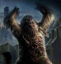 When 'Star Wars' Characters Meet Zombies? Chewbacca, Geeks, Zombies, Halloween C, Marvel Comics, Zombie Art, Star Wars Rpg, Star Wars Wallpaper, Branding