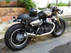 My GL400 Cafe Racer Guzzi V7, Moto Guzzi, Retro Motorcycle, Motorcycle Style, Cx500 Cafe Racer, Scrambler, Honda 500 Cx, Cb 450, Honda Cx500