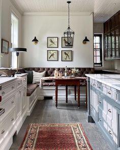 Kitchen Banquette, Dining Nook, Kitchen Dining, Kitchen Decor, Kitchen Nook, Layout, Nooks, New Kitchen, Decoration