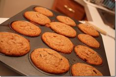 Carrot raisin bran muffins