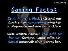 Zelda Majora's Mask entstand nur durch einen Kompromiss zwischen S. Miyamoto und den Entwicklern. Diese wollten nämlich kein Add-On für OoT fertigen. Somit sollte ein Sequel innerhalb eines Jahres her.