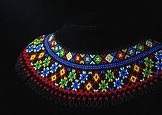 Бісерні вироби Львів Seed Bead Jewelry, Seed Beads, Beaded Jewelry, Crochet Necklace, Beaded Necklace, Folk Fashion, Beading Tutorials, Collars, Bracelets