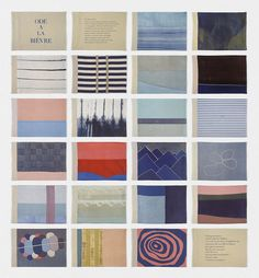 Louise Bourgeois, Ode à la Bièvre, 2002, archival dyes & lithograph on cloth book, collection Tate, London.