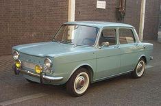 Simca 1000 — my first car in 1966 Retro Cars, Vintage Cars, Vw Minibus, Fiat 850, Cute Cars, First Car, Small Cars, Old Cars, Bugatti