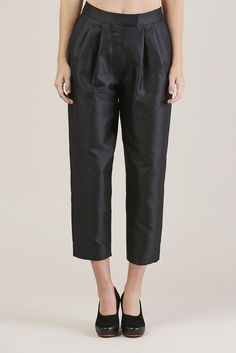 Relax Trousers, Black by Isa Arfen