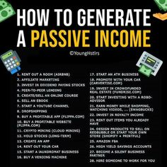 Passive income – - Topic Money - Economics, Personal Finance and Business Diary Atm Business, Business Money, Business Ideas, Buisness, Online Business, Vie Motivation, Business Motivation, Motivation Success, Financial Literacy