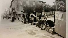 """Φωτογραφία του 1970 από το """"παζάρι"""" της Τρίπολης."""
