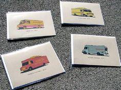 Taco Truck card set from 33stewartavenue