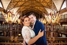 Chrysty and Mike had their first look against the stunning backdrop of Animal Kingdom Lodge's Jambo House lobby!