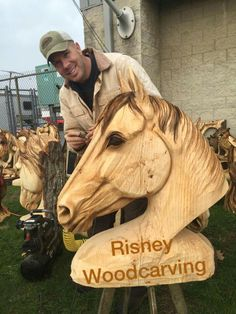 Horse head chainsaw sculpture FREE: Access Our Brand New WoodCrafting Guide