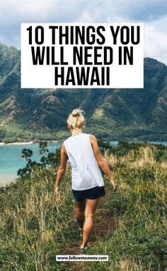 You are NOT going to want to forget these items from your Hawaii packing list! When figuring out what to wear in Hawaii, don't make these mistakes! 10 Things You Will Need In Hawaii Hawaii Vacation Tips, Hawaii Travel Guide, Maui Travel, Hawaii Honeymoon, Travel Tips, Vacation Ideas, Travel Destinations, Vacation Travel, Usa Travel