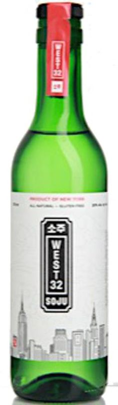 An American Take on a Traditional Korean Spirit. All natural, gluten free. We wanted to make a different spirit-one that continued the time-honored Korean ritual of celebrating life with soju. We didn't have to go far: locally made in New York City, West 32 Soju is made from distilled corn so it's naturally gluten free. Our soju is sweetened with a touch of natural cane sugar and then triple-filtered for an exceptionally smooth finish. Made from the highest quality all-natural ingredi...