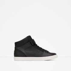 ZARA - MAN - TECHNICAL HIGH-TOP SNEAKERS
